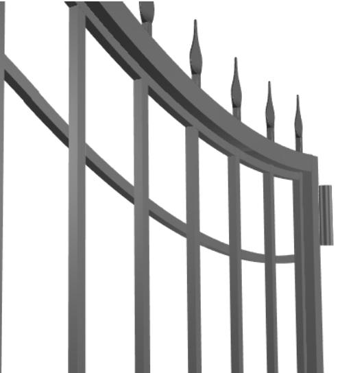 Кованые ворота. Как сделать самому.